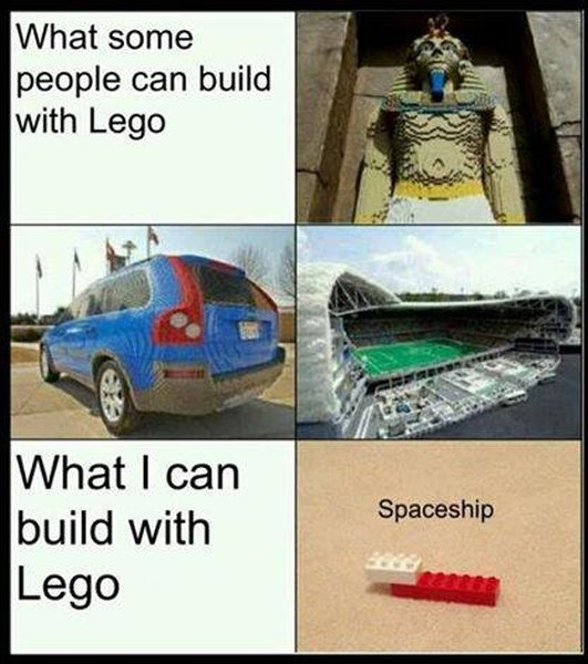 What Some People Can Build With Lego - Funny pictures