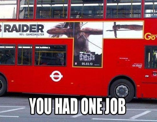 You Had One Job - Funny pictures