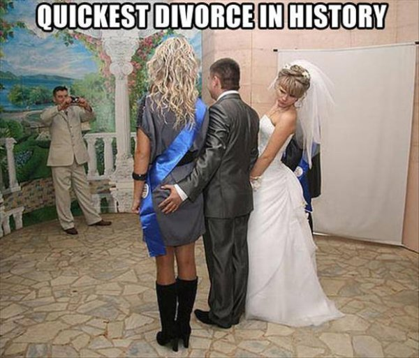 Quickest Divorce In History - Funny pictures
