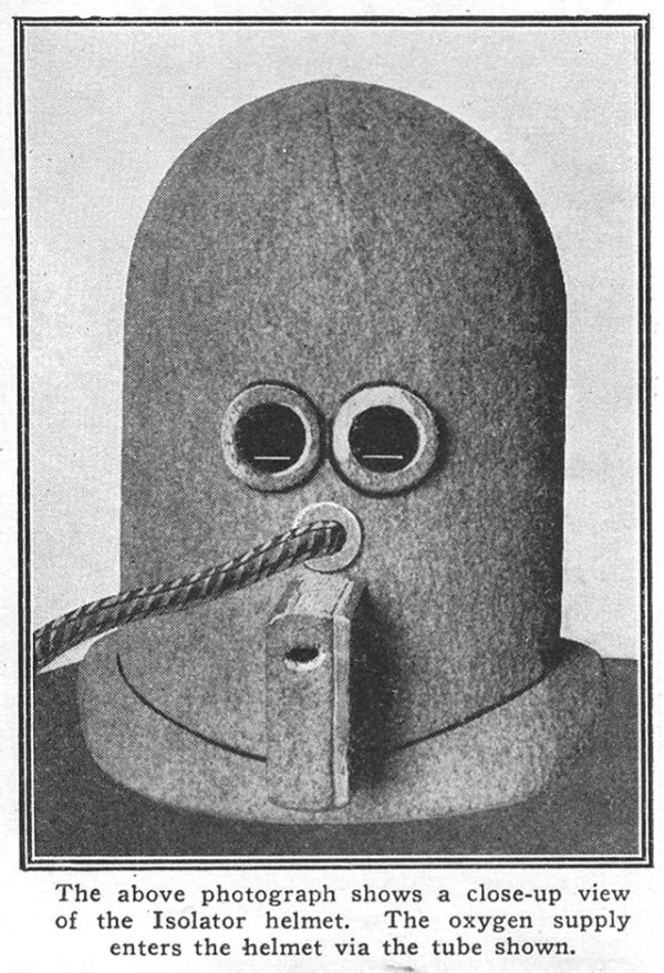 """Isolator"" A Bizarre Helmet For Concentration - Funny pictures"