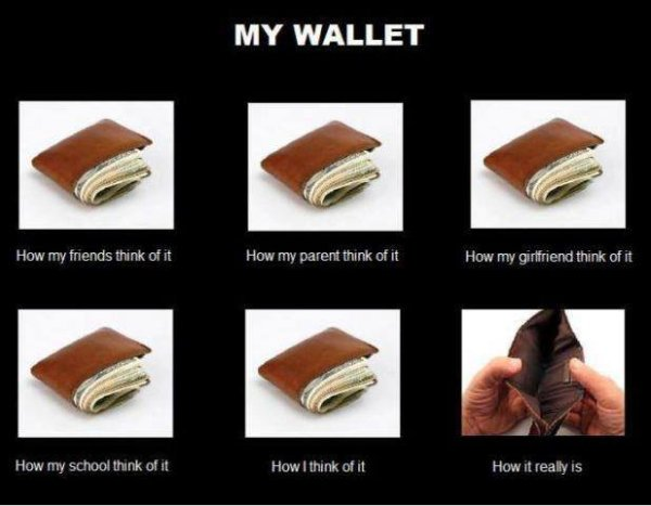 My Wallet - Funny pictures