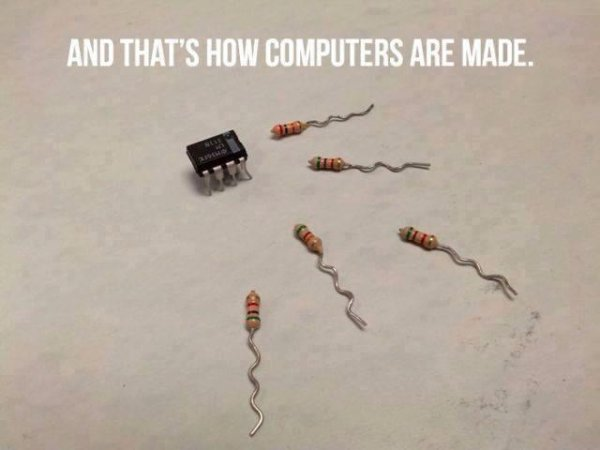 How Computers Are Made - Funny pictures