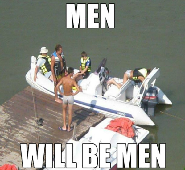 Men Will Be Men - Funny pictures