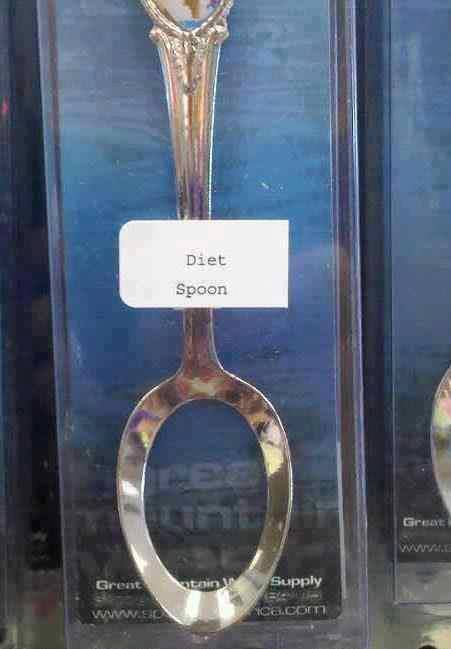 Diet Spoon - Funny pictures