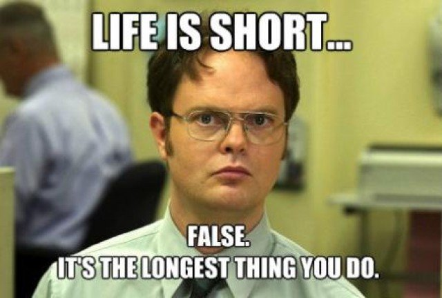 Life Is Short - Funny pictures