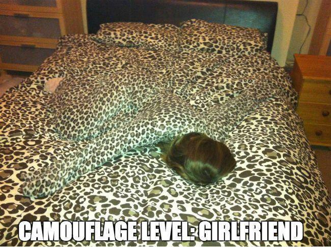 Camouflage - Level Girlfriend - Funny pictures
