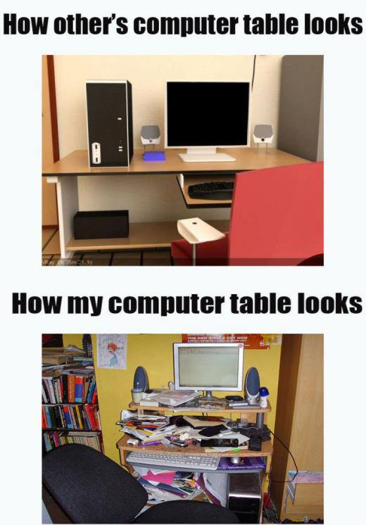 Computer Tables - Funny pictures