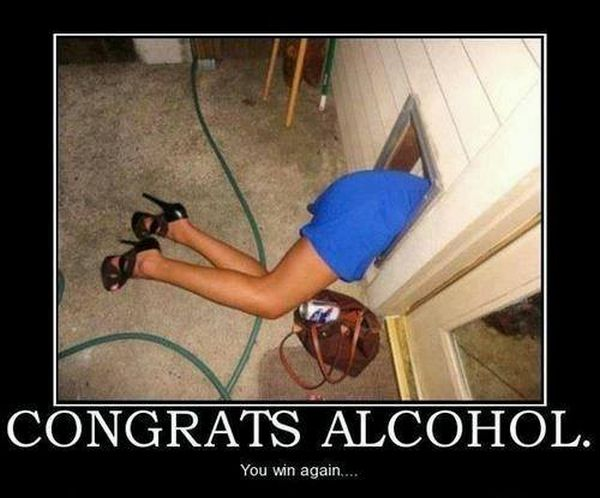 Congrats Alcohol - Funny pictures