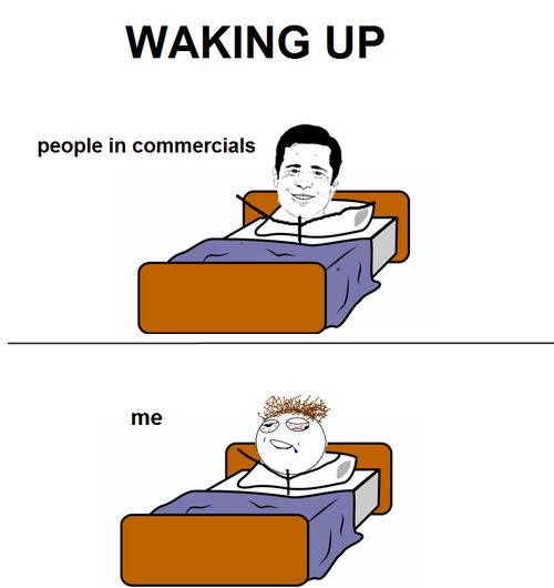 Waking Up - Funny pictures