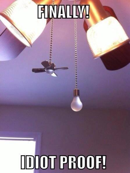 Idiot Proof - Funny pictures