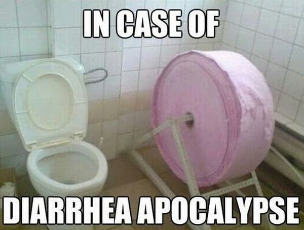 In Case Of Diarrhea Apocalypse - Funny pictures