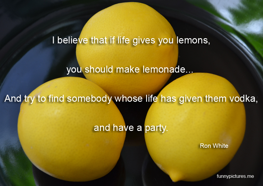 If Life Gives You Lemons - Funny pictures