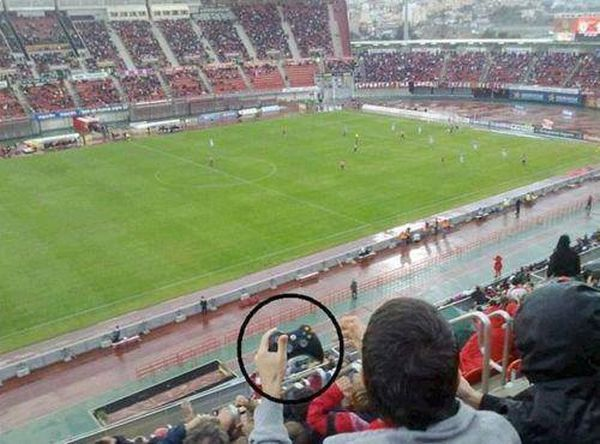 Meanwhile At The Stadium - Funny pictures