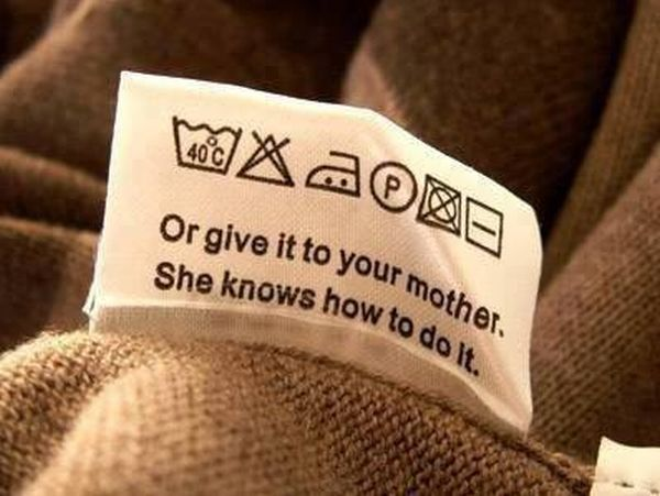 The Best Washing Instructions - Funny pictures