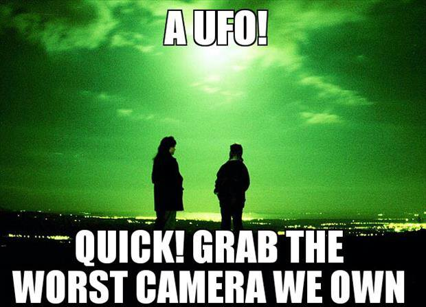 A UFO - Funny pictures