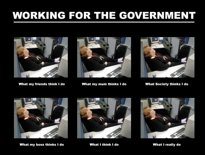 Working For The Government - Funny pictures