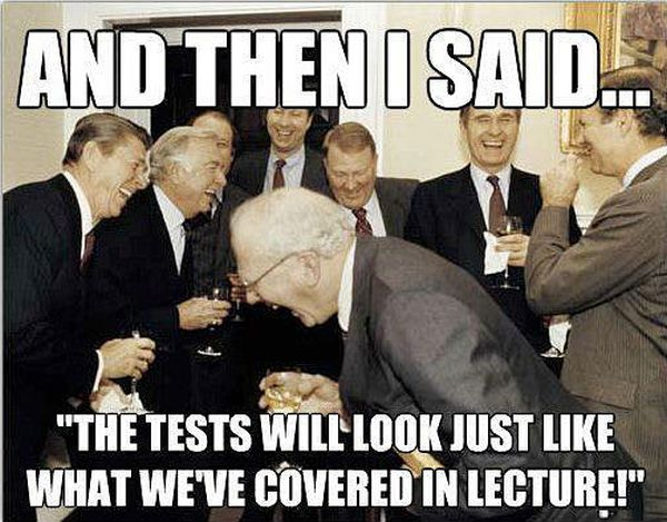 Annual Professor's Meeting - Funny pictures