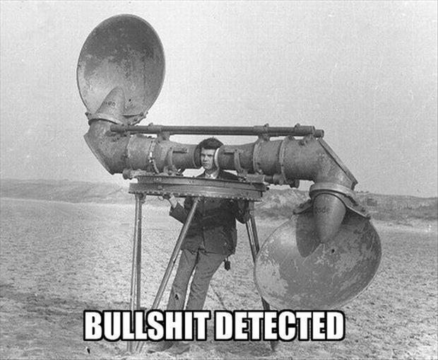 Bullshit Detector - Funny pictures