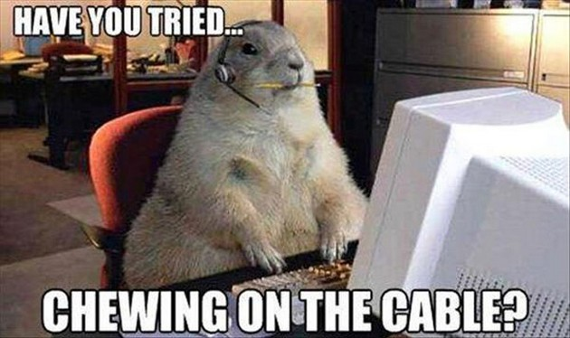 Gopher Tech Support - Funny pictures