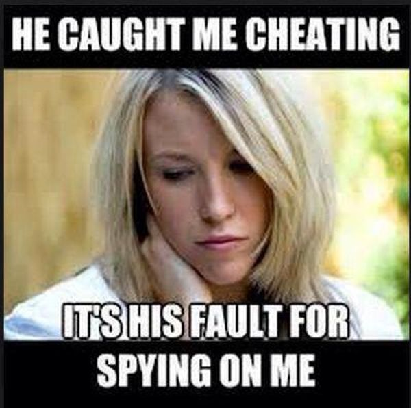 He Caught Me Cheating - Funny pictures