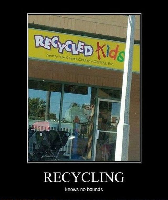 Recycling - Funny pictures