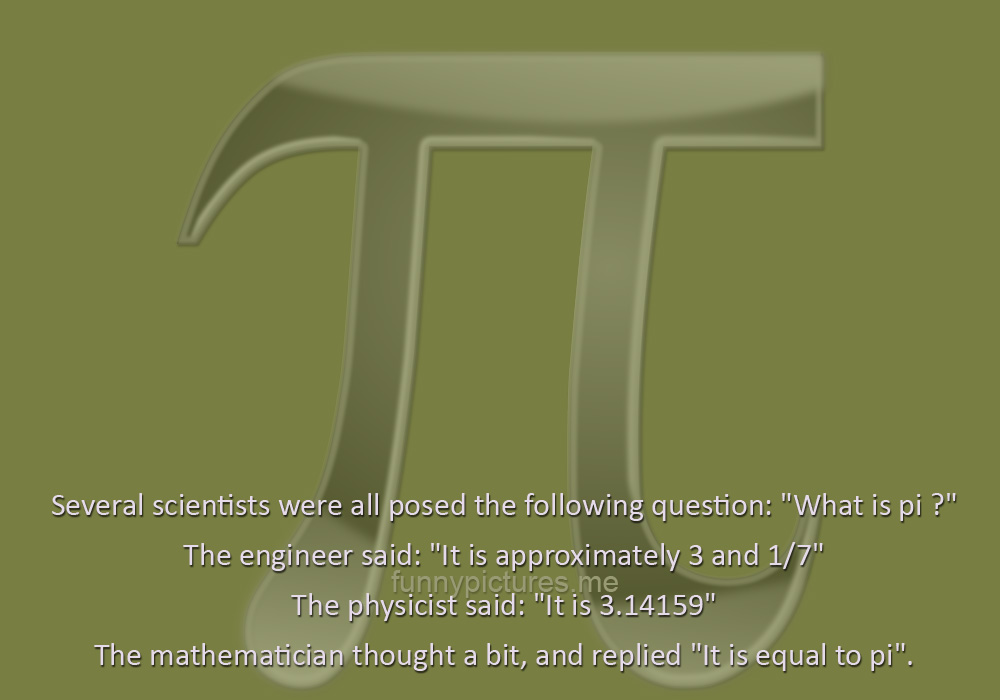 What Is Pi? - Funny pictures