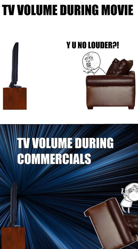 TV Volume - Funny pictures