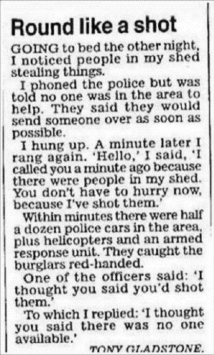 Calling the cops like a boss - Funny pictures