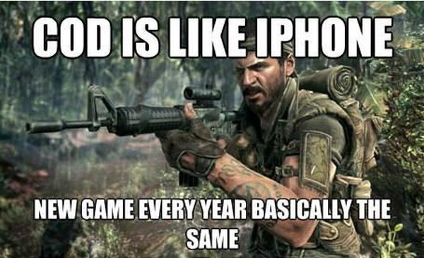 COD Is Like Iphone - Funny pictures