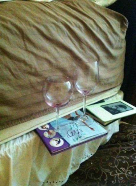 DIY Bedside Table - Funny pictures