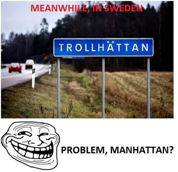 Meanwhile In Sweden - Funny pictures
