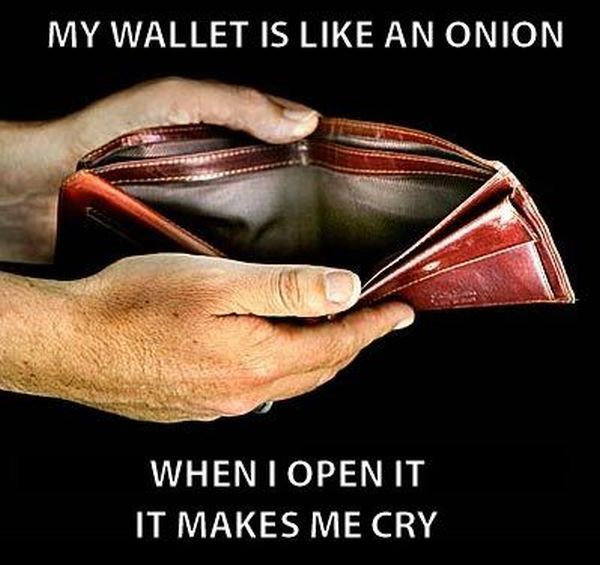 My Wallet Is Like An Onion - Funny pictures