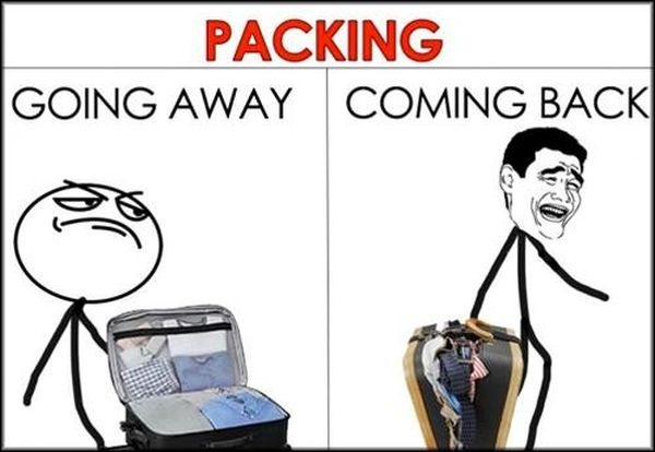 Packing - Funny pictures