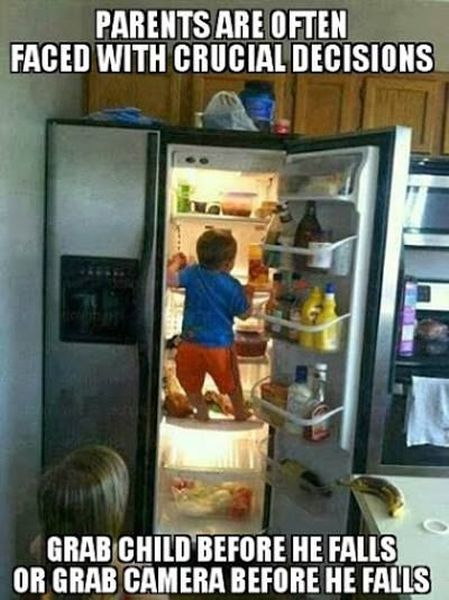 Parents Are Often Faced With Crucial Decisions - Funny pictures
