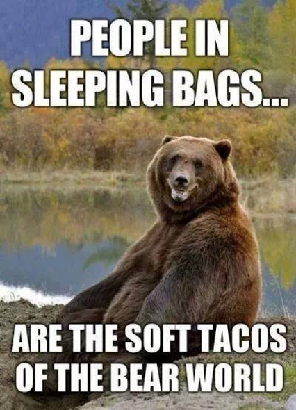 People In Sleeping Bags... - Funny pictures