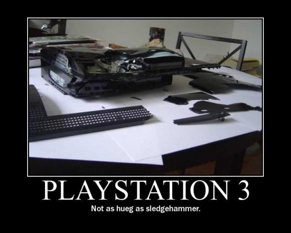 Playstation 3 - Funny pictures