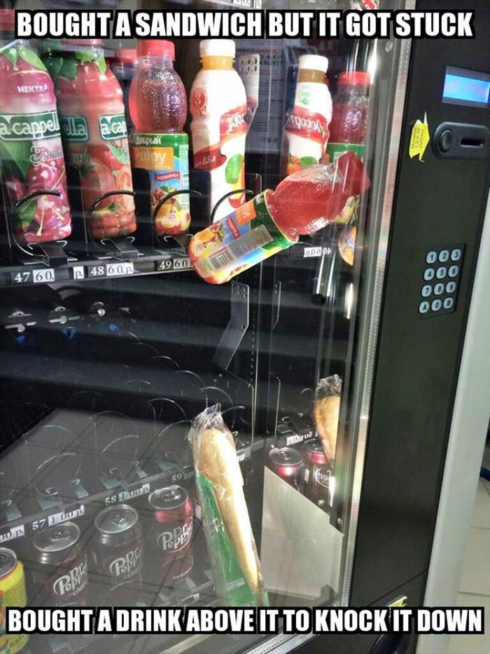 Well Played Vending Machine, Well Played... - Funny pictures