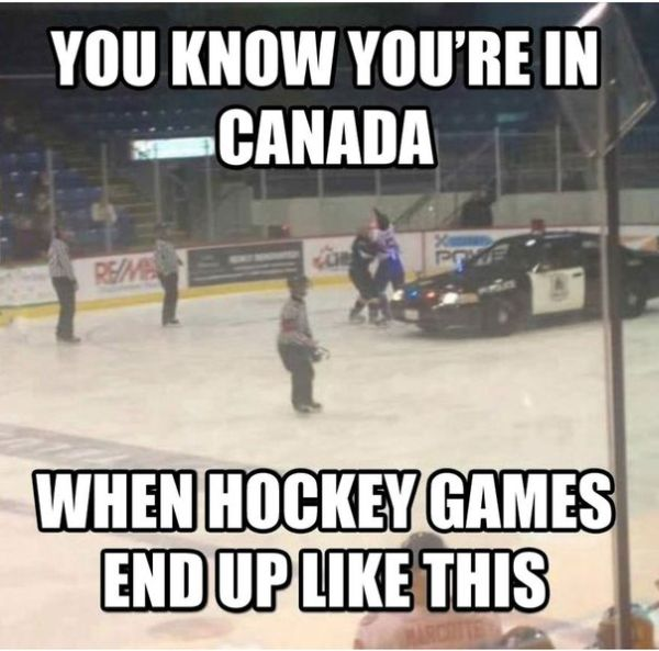 You Know You're In Canada When... - Funny pictures