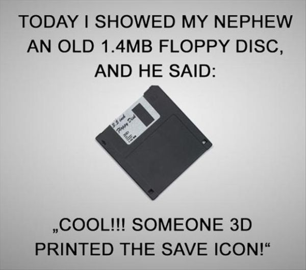 3D Save Icon - Funny pictures