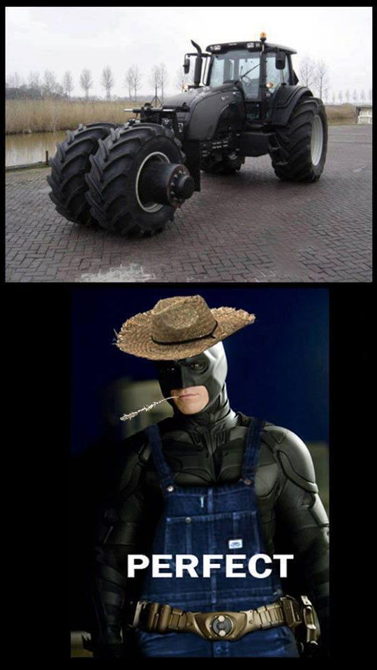 The Dark Farmer - Funny pictures