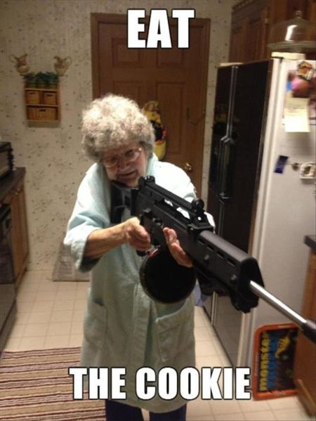 Meanwhile, At Grandma's House... - funny pictures
