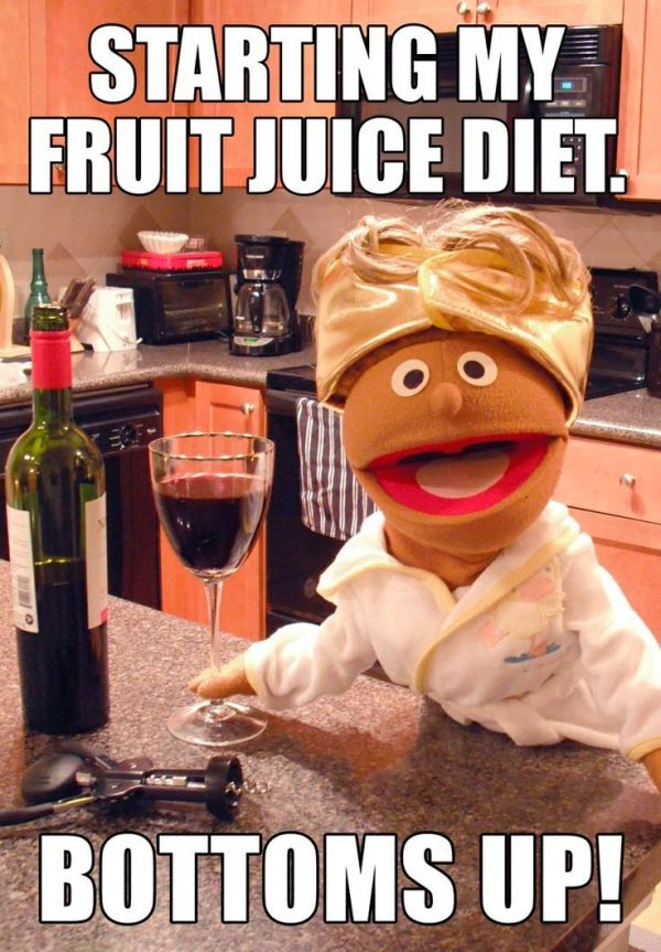 Fruit Juice Diet - Funny pictures