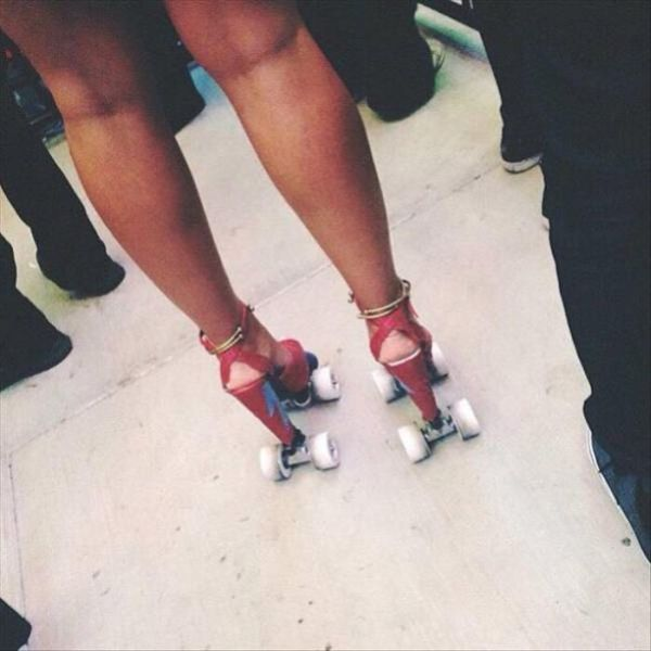 High Heel Rollers - Funny pictures