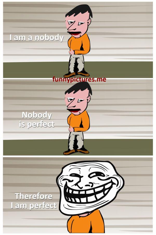 I Am Nobody…