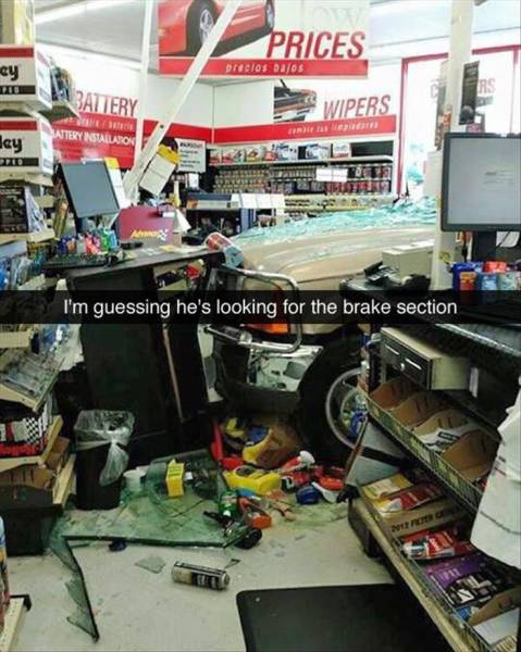 Meanwhile In Car Parts Store - Funny pictures