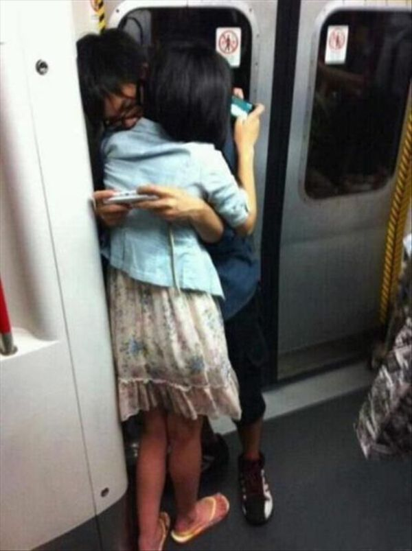 Meanwhile In Metro - Funny pictures