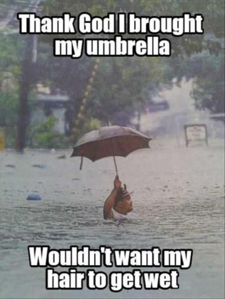 Thank God I Brought My Umbrella - Funny pictures