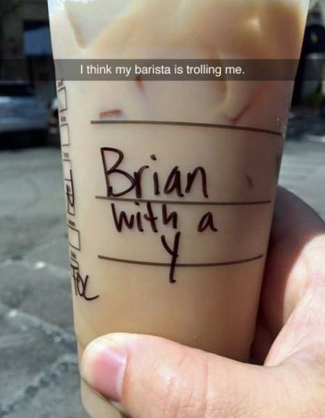 Trolling Barista - Funny pictures