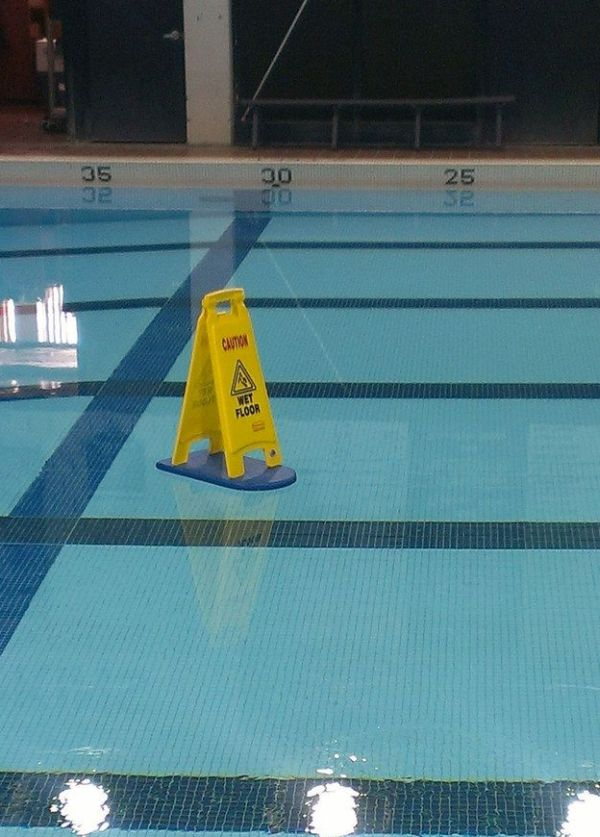 Caution Wet Floor - Funny pictures