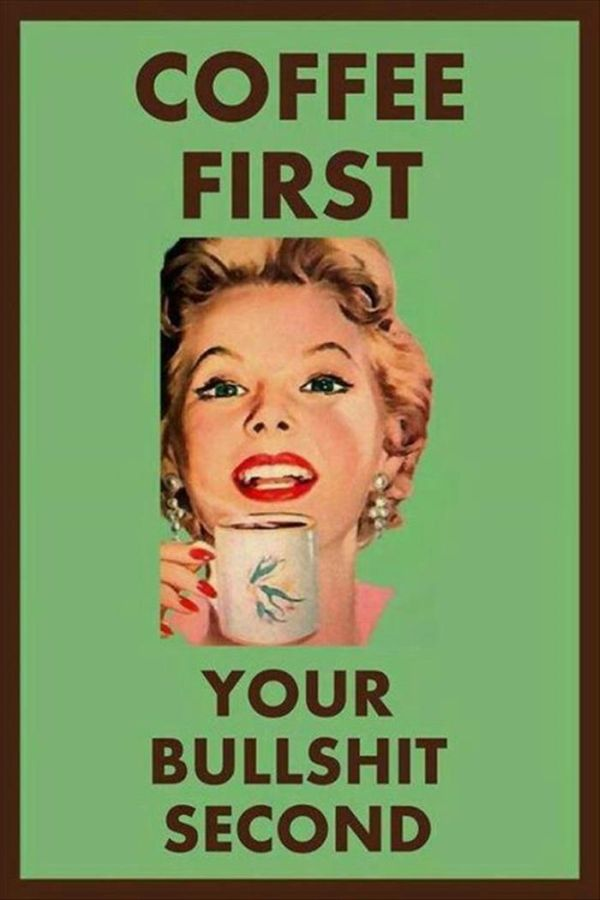 Coffee First - Funny pictures